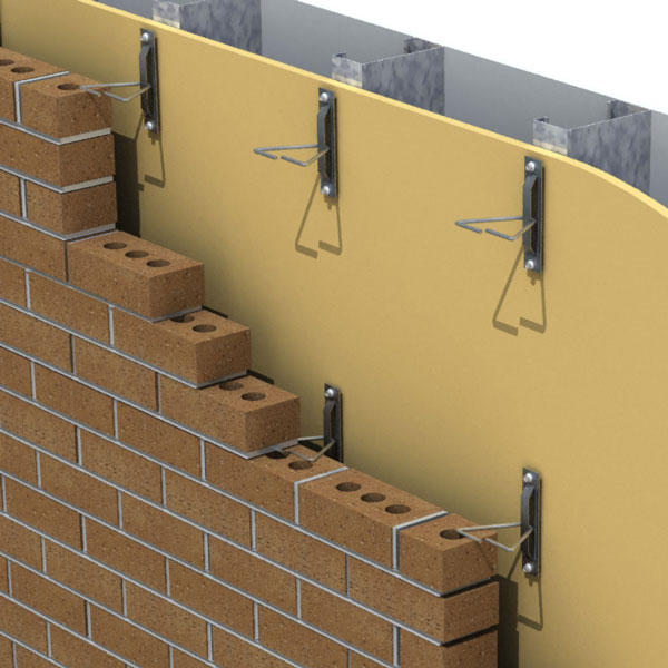 Anchoring systems for brick veneer walls pro masonry guide for 1 2 inch brick veneer