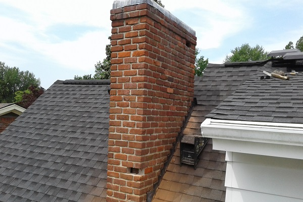 Replacing Spalled Bricks on a Chimney