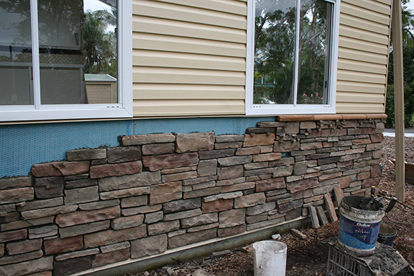 Brick Veneer Siding Installation Brick Veneer Siding Stone Concept Stone Facing For Homes
