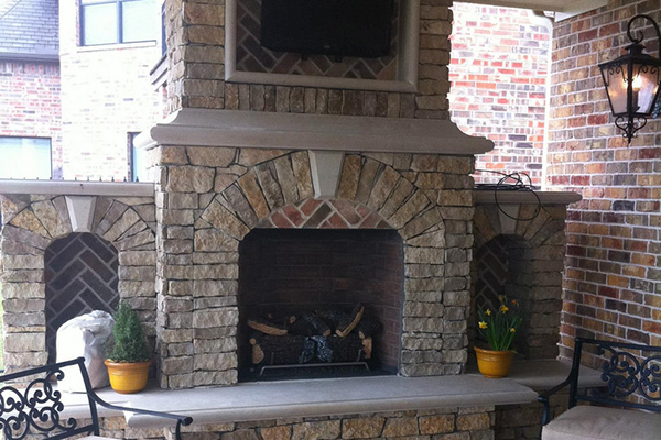 Swell Installing Brick Veneer Around A Fireplace Pro Masonry Guide Beutiful Home Inspiration Semekurdistantinfo