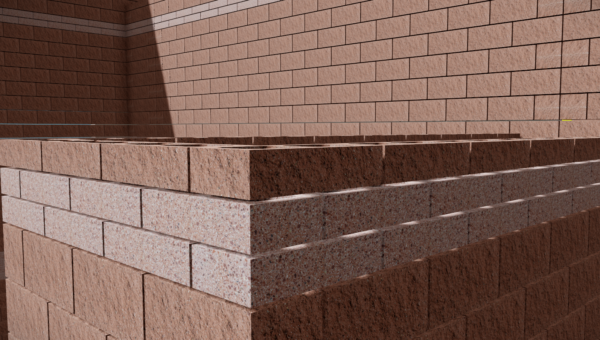 Masonry buildings can be experienced through models like never before.  Connections to steel, unit layout, rebar locations and complex geometry can all be easily explored in today's models.  Models like the one shown here can even be experienced in VR (virtual reality).