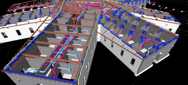 Masonry models are taking an active role in BIM coordination and delivering real value to projects.  From exact quantities, to material staging, to clash detection with other trade models, masonry models are one of the hottest trends in construction.
